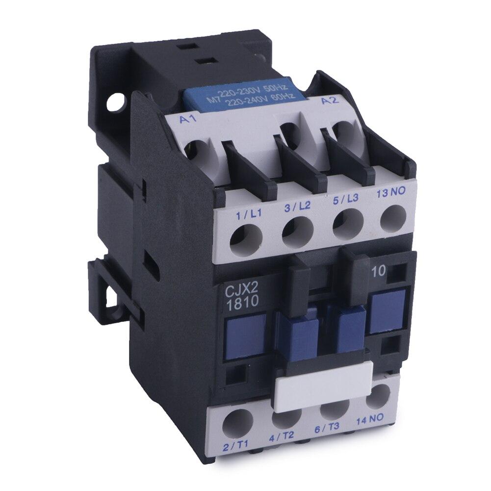 AC Contactor Motor Starter Relay 3 POLE /& 1NO 220V 32A COIL 7.5KW