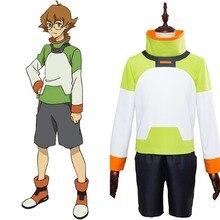 Anime Voltron  Legendary Defender of the Universe Cosplay disfraz Defender  Pidge Voltron Cosplay disfraz conjunto f85031f61e60