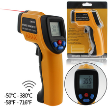 Buy Hot Sale Accurate Non-Contact LCD IR Laser Infrared Digital Temperature Thermometer Gun Wholesale Best Selling