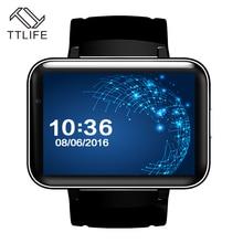 TTLIFE 2.2″ Big Screen DM98 Android 4.4 3G Smart Watch Multi-lingual Bluetooth  Smart Wrist Run GPS WiFi Camera Fitness Tracker