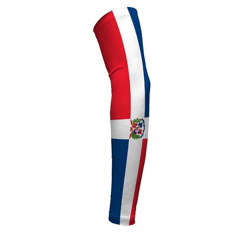 Mexico Flag Digital Camo Compression Custom Arm Sleeves Protecto Elbow Flag US Chile Dominican Venezuela Brzil Cuba Colombia