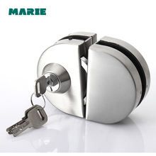 High Quality Sliding Central Glass Door Lock,304 stainless steel,Bidirectional unlock