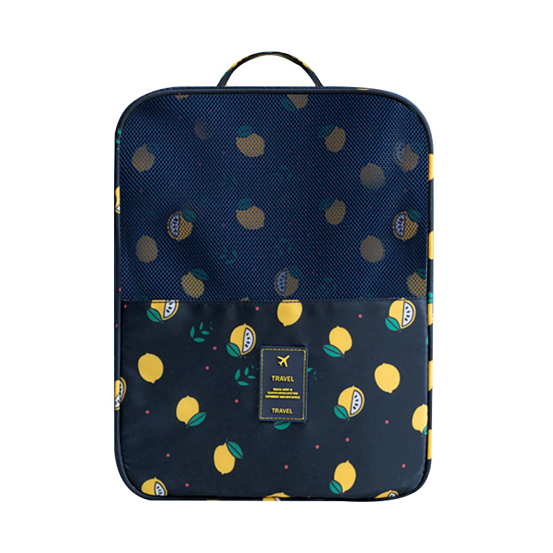 Travel Lemon Pattern Shoes Bags Womens Mens Home Storage Organization Wholesale Bulk Lots Accessories Supplies Products
