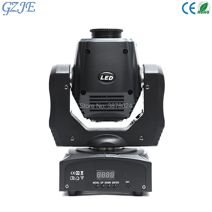 4PC/Lot Led Stage Lighting Effect LED Moving Head 60w Gobo Light Led DMX 512 Control Mini Dj Diso Moving Heads 60w 6pcs lot white color 132w sharpy osram 2r beam moving head dj lighting dmx 512 stage light for party