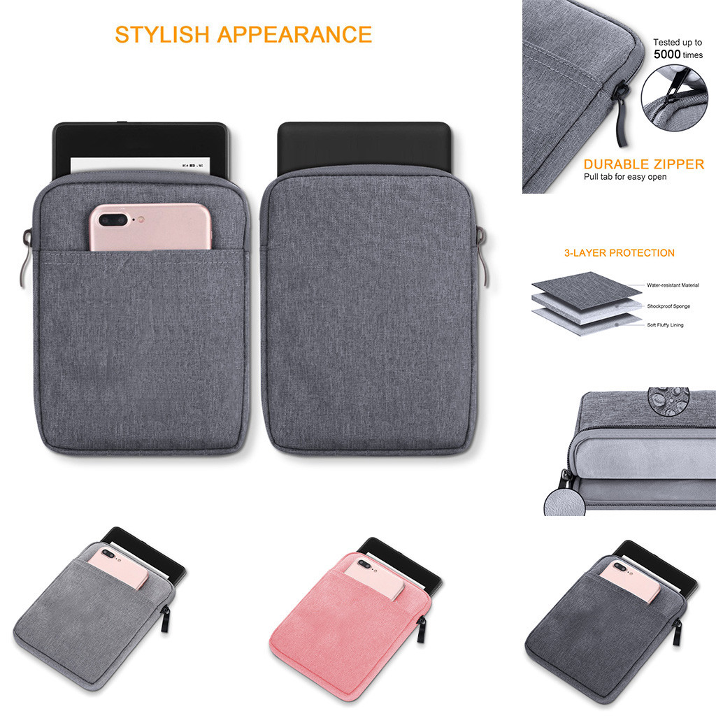 Case Cover 2019 hot sales For Amazon Kindle Oasis3 7-Inch Dual Storage Phone Case / Slot Wallet Zipper Bag new garmin watch 2019