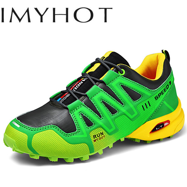 New Luminous Hiking Shoes Solomon Series Explosion-proof  Mountain Climbing Shoes Chaos Large Size Outdoor Shoes Non-slip Shoes