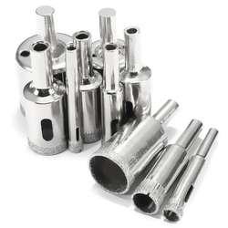 Gtbl 10 шт. diamond сверла Стекло и плитки полые сверла основных Extractor Remover Инструменты 6-30 мм