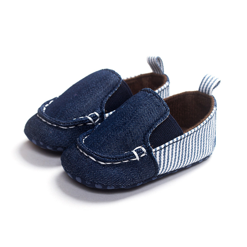 New Baby Shoes Fashion Blue Denim Cotton Casusl Shoes Toddler Boy Girl Sneakers Shoes Infant Bebe Soft Sole First Walkers.CX118C