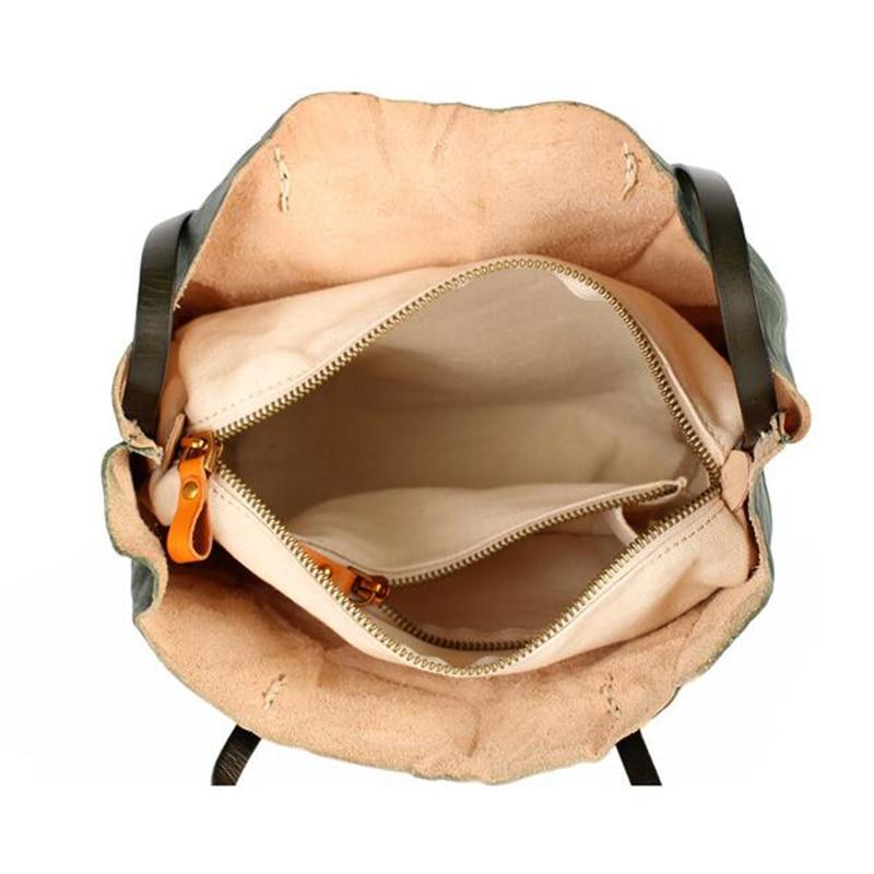 Bureau Skin Haute De noir Cuir Main Grand À Épaule Color Fourre Véritable Qualité brown Dames Sacs Designer tout Femelle Réel En Femmes Décontracté Composite vert Mode 7qwT1ZXn