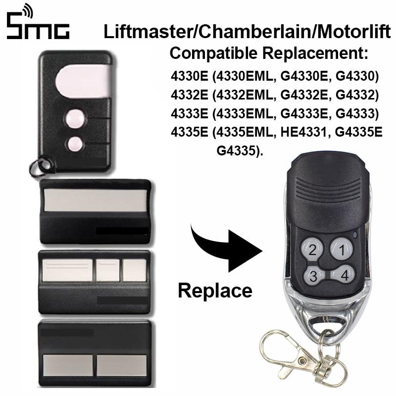 Liftmaster Chamberlain 4330e 4332e 4333e 4335e Compatible Handheld Transmitter For Sliding Gates Command Garage Rolling Code