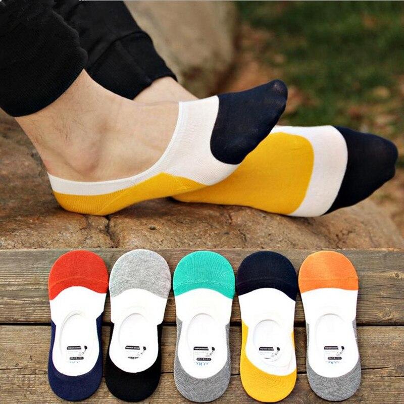 1pair new fashion Casual Invisible Socks Men Shallow Mouth Non-Slip Mens Dress Socks Brand Huiyi Home Men Socks Slippers