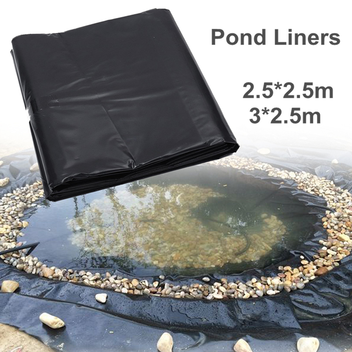 Fish Pond Liner Garden Pools Reinforced HDPE Heavy Duty