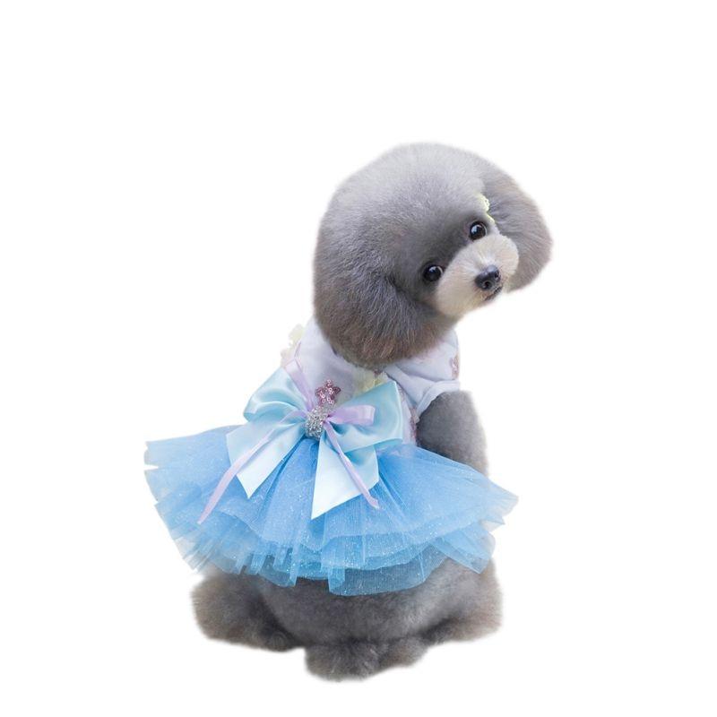 Nyaste våren Diverse Pet Hund Katt Kläder Sommar Bowknot Snör - Produkter för djur - Foto 6