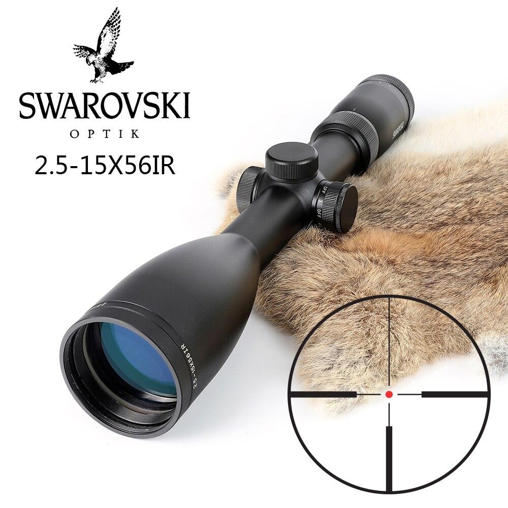 Nachahmung Swarovskl 2,5-15x56 IRZ3 Zielfernrohr F15 Red Dot Absehen Jagd Zielfernrohre Hergestellt In China