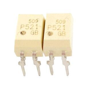 """Image 2 - 500 pcs TLP521 1GB TLP521 1 TLP521 P521 מח""""ש 4 מצמד אופטי טרנזיסטור פלט שבב"""