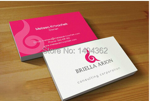 Custom business cards business card printing 350gsm coated paper custom business cards business card printing 350gsm coated paper business cards printing both sides full colour 500 pcslot in business cards from office reheart Choice Image