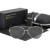 Design clássico Polarizada Óculos De Sol Dos Homens com Proteção UV400 oculos de sol de Marca em Alta Qualidade do Transporte Da Gota