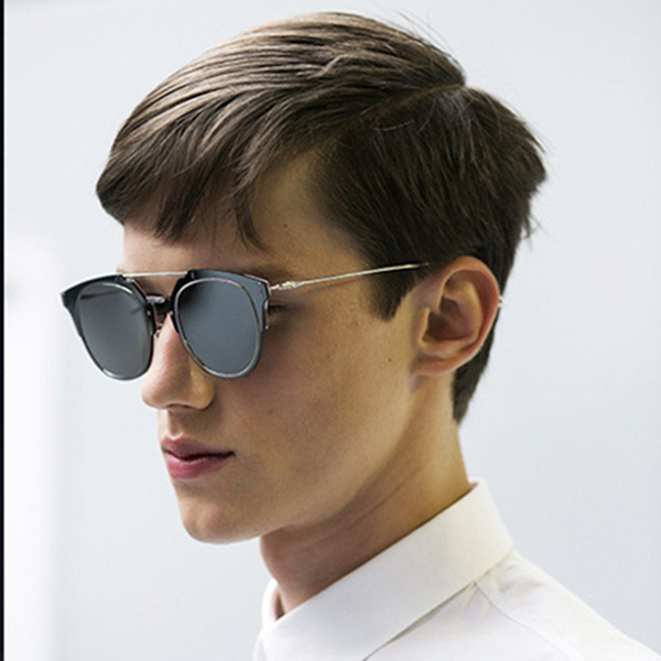 Designer de dupla Ponte COMPOSIT 1.0 Homens Mulheres Óculos De Sol  Espelhado Metal Shades Óculos De Sol Oculos De Sol Futurismo Estilo Europeu d5b0a739a9