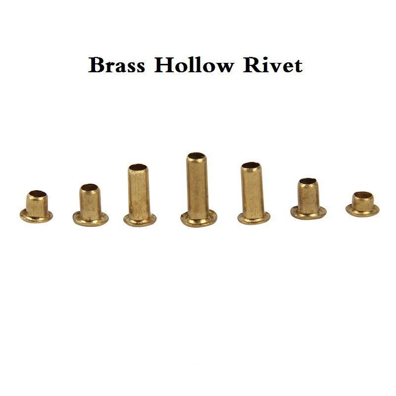 500 pçs/lote m0,9 (d)* 2.5mm / 3mm (l) rebite oco de bronze/não cobre, dupla face placa de circuito pcb 0.9mm vias rebite de unhas