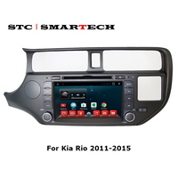 SMARTECH 2 Din Android 6 0 1 Car Dvd Player Gps For KIA RIO 2011 2015