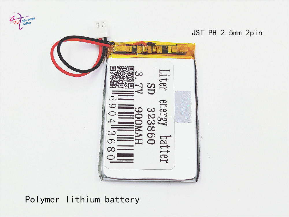 Consumer Electronics Xhr-2p 2.54 900mah In Special Offer 323860 3.7v Lithium Polymer Battery 323861 Point Reading Pen Toys
