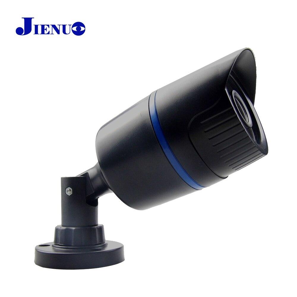 Jienu CCTV cámara IP 720 p 960 P 1080 p HD impermeable al aire libre seguridad Sistemas de vigilancia mini ipcam P2P infrarrojos cam ONVIF