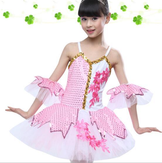 a0e516a86 Classical Ballet Tutu Dancewear 100 150cm Girls Ballet Clothes ...
