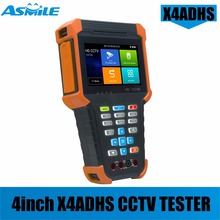 2018 newest cheaper 4 inch Android system all in one wifi cctv tester with HDMI input for X4ADHS