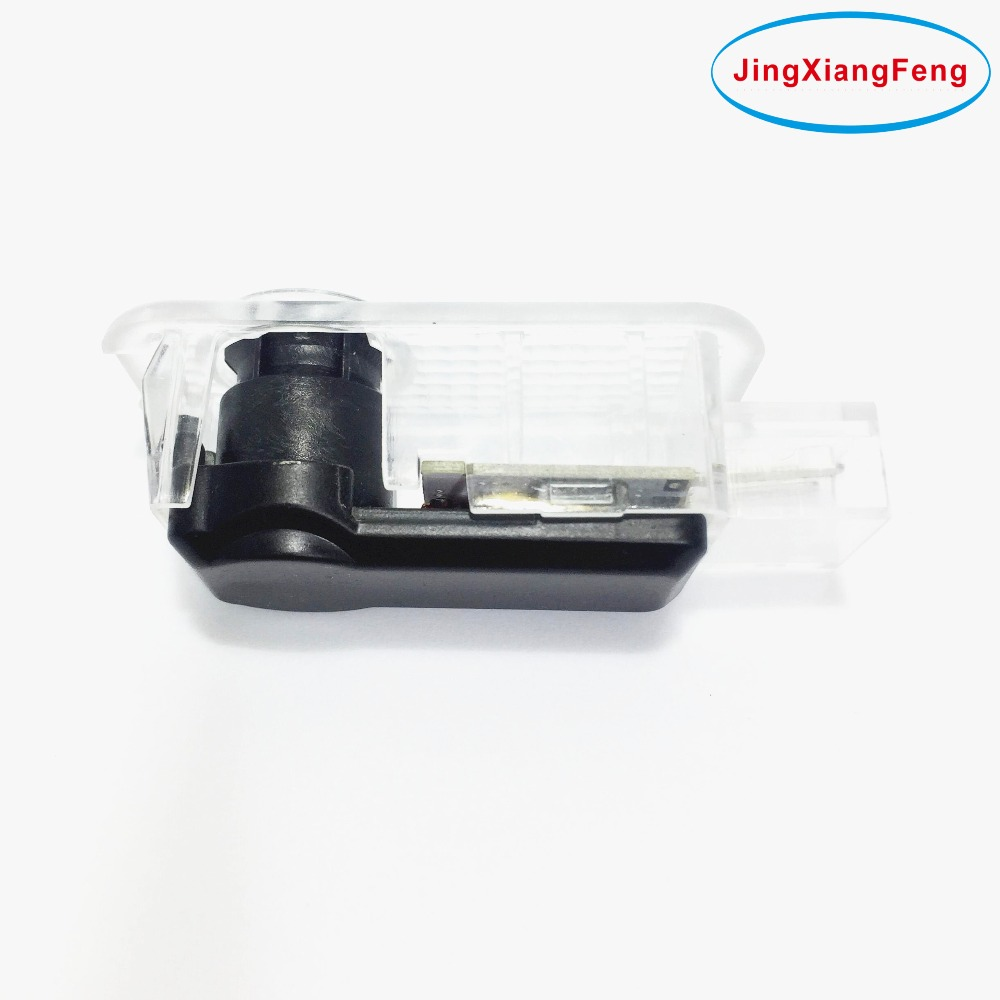 JingXiangFeng <font><b>LED</b></font> car accessories styling Door Welcome Light For <font><b>Skoda</b></font> <font><b>Octavia</b></font> Superb Wireless 3D Projector Logo Laser For Audi image
