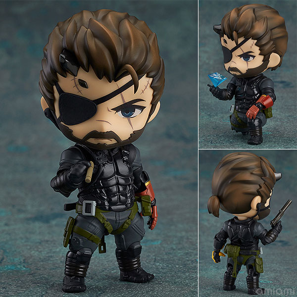 Metal Gear Solid V The Phantom Venom Snake Sneaking Suit Ver. #565 Nendoroid PVC Action Figure Collectible Model Toy metal gear solid action figure sons of liberty figma 298 soldier pvc toy 16cm anime games figures snake collectible model doll