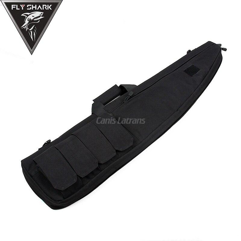 Color Marrón negro Caso 100x28 cm Bolsas Arma para La Caza de Airsoft Shooting C