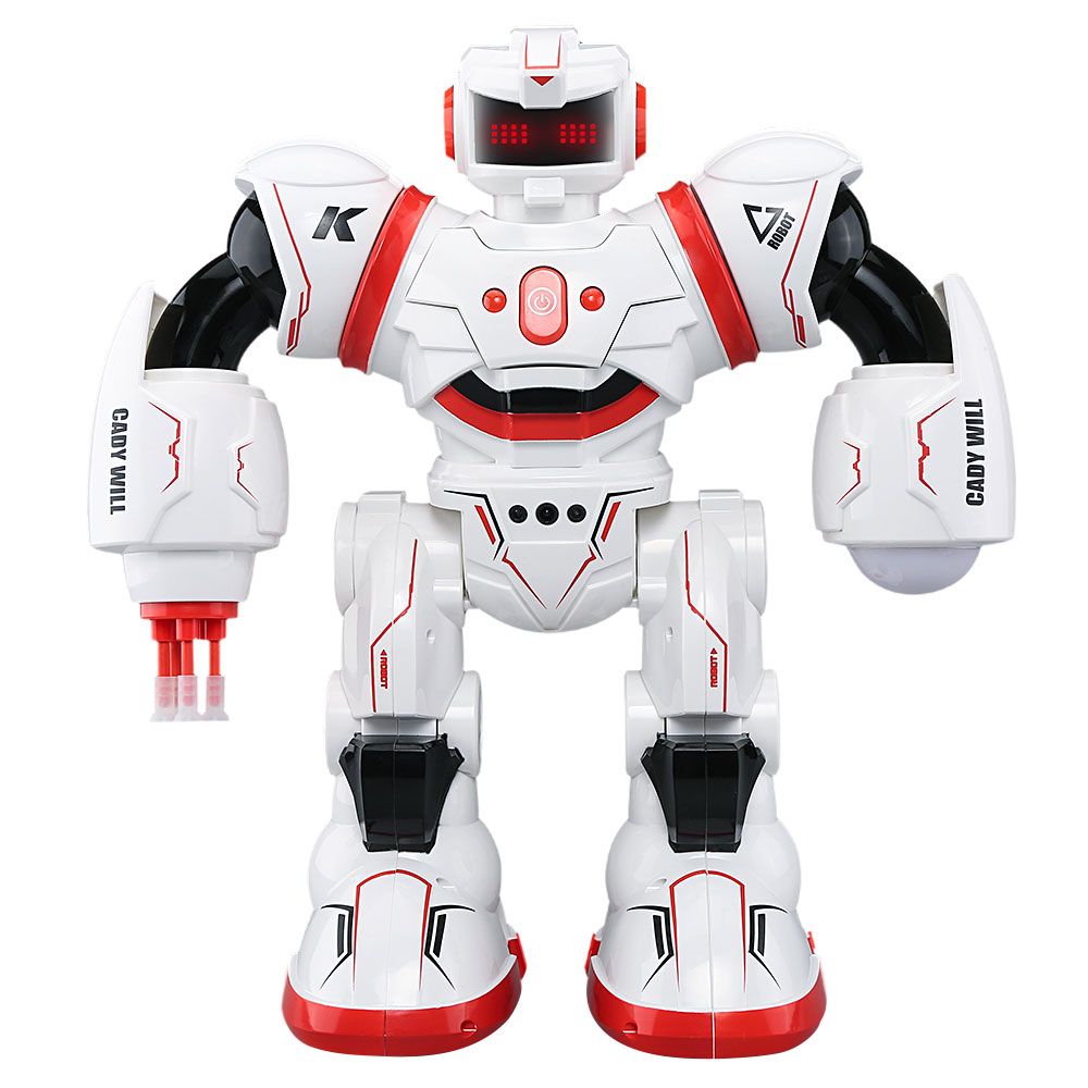 2.4GHz Multi Mode Control Robot Intelligent Dancing Singing Launching Flashing multi robot assignment and formation control