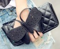 2016 new autumn and winter bow clutch chain bag purse