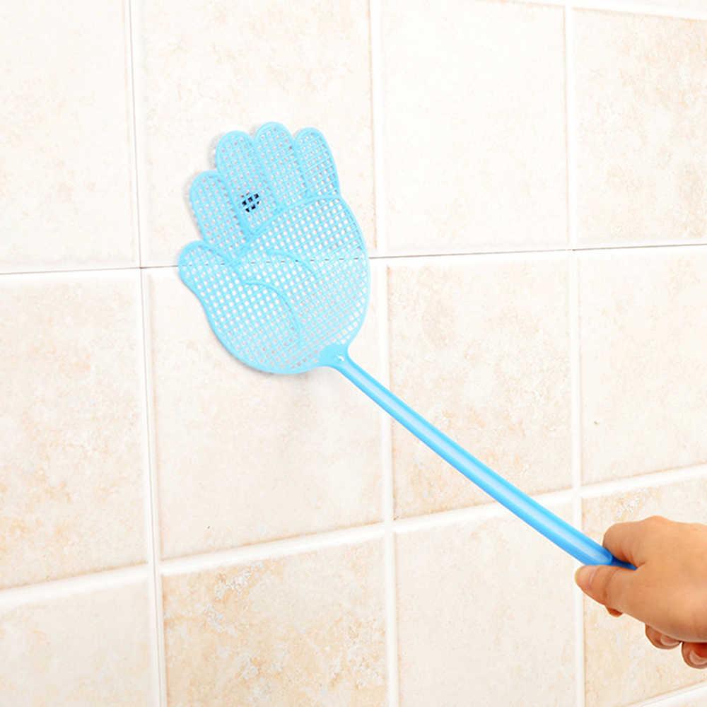 1 pc ฤดูร้อนพลาสติก hand Fly ยุง Swatter Bug Zapper แมลง Killer Home Zappers Bug Pest Control fly swatter