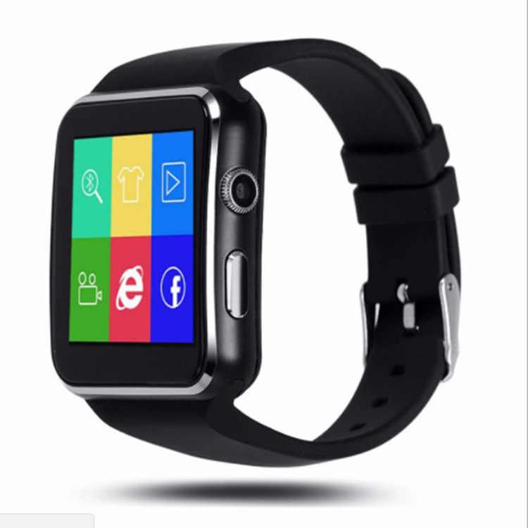 Hollvada Bluetooth умные часы, умные часы X6 Android Телефонный звонок Relogio для мобильного телефона 2G GSM SIM TF карты Камера слот Push-сообщения Для мужчин часы