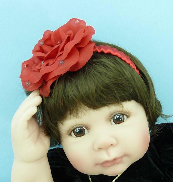 Silicone Vinyl Reborn Baby Doll toys about 30