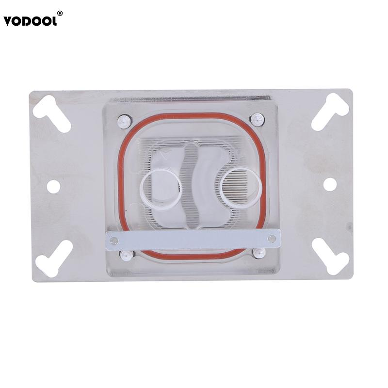 Water Cooling G1/4 CPU Water Block Radiator Water Cooler 3mm Red Copper Baseboard for Computer CPU AMD AM2/AM2+/AM3/FM1/940 thermalright le grand macho rt computer coolers amd intel cpu heatsink radiatorlga 775 2011 1366 am3 am4 fm2 fm1 coolers fan