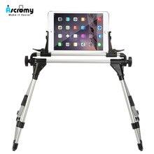Ascromy tablet uniwersalny łóżko stojak uchwyt do ipada Pro 10.5 12.9 Air iPhone X 8 Plus 7 6 S leniwy smartfon wsparcie porta celular