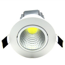 Super Bright Recessed LED Dimmable COB Downlight 5W 7W 9W 12W LED Spot light Dimming Indoor Ceiling Lamp White/Warm white