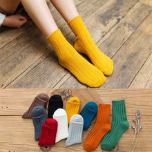 10 Pairs 2019 women socks autumn colourful cotton breathable candy shape friction prevention