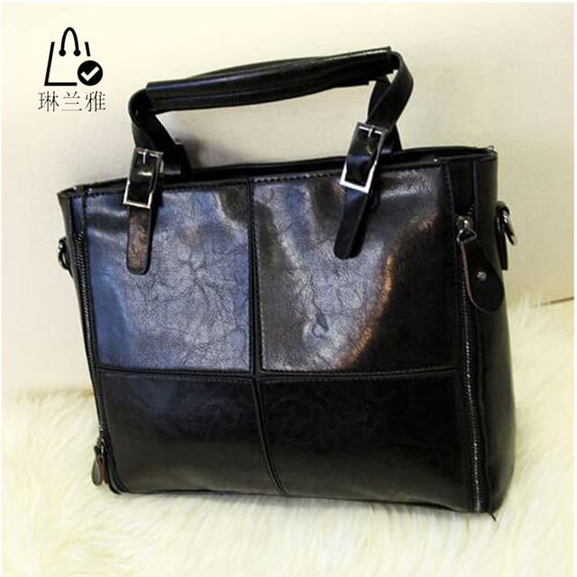 LINLANYA high quality pu leather bag women messenger bags briefcase designer handbags fashion women shoulder bag crossbody bags