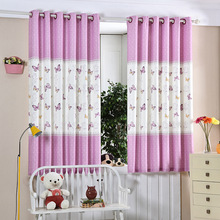 1PC 7 цвет Шторы занавески половинной тени занавески для спальни Необычные дети Современные занавески для гостиной Детская занавеска