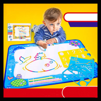 50*70 cm children painting canvas magic water canvas reusable painting canvas
