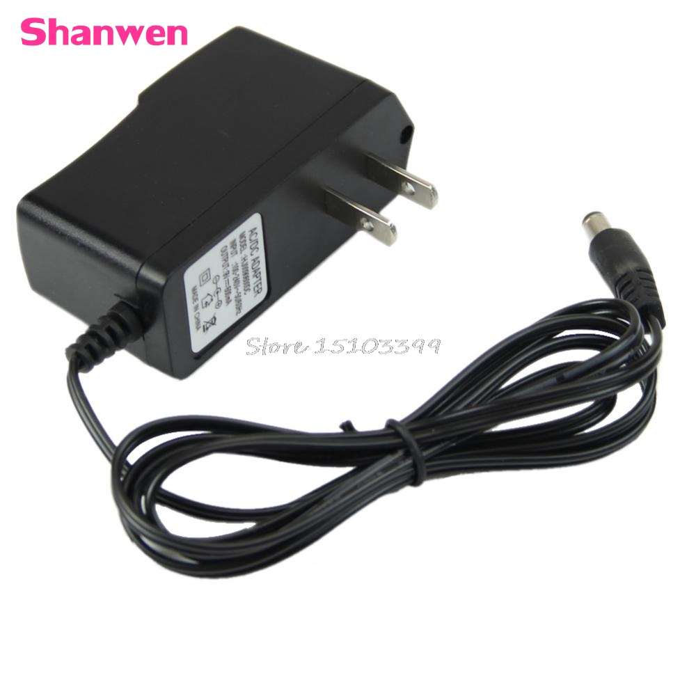 converter adapter dc 9v 600ma 0 6a ac wall charger power supply us plug g08 drop ship in ac dc. Black Bedroom Furniture Sets. Home Design Ideas