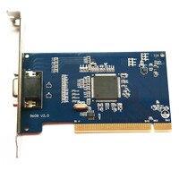 8ch hd d1 RealTime cctv PCI dvr Video Capture Card 4ch Audio VGA output cable