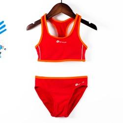 Новинка 2018, спортивные купальники для девочек, раздельные спортивные купальники, профессиональные бикини, танкини, бикини, Infantil, G47-K564 1