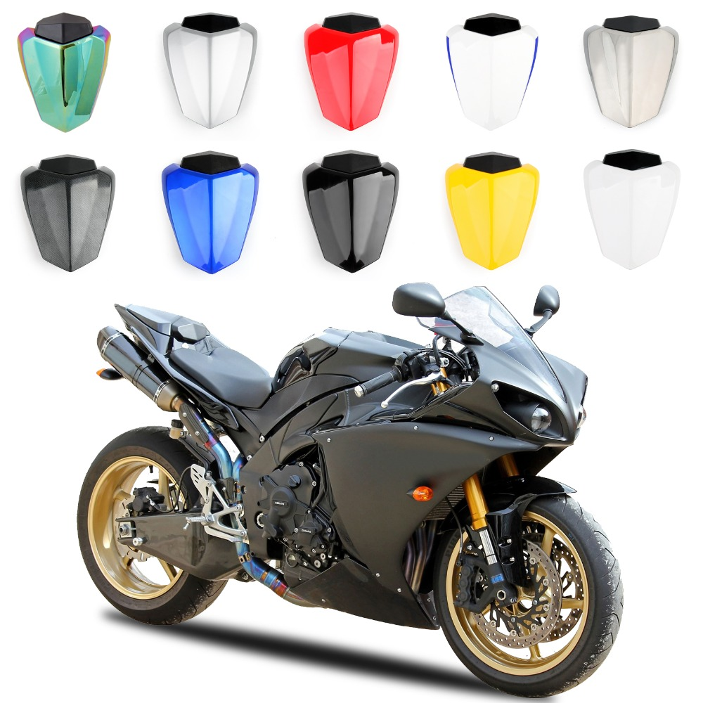 Areyourshop Motorcycle ABS Plastic Solo Rear Seat Cover Cowl For Yamaha YZF R1 09-14 Fairing New Arrival Motorbike Part Styling