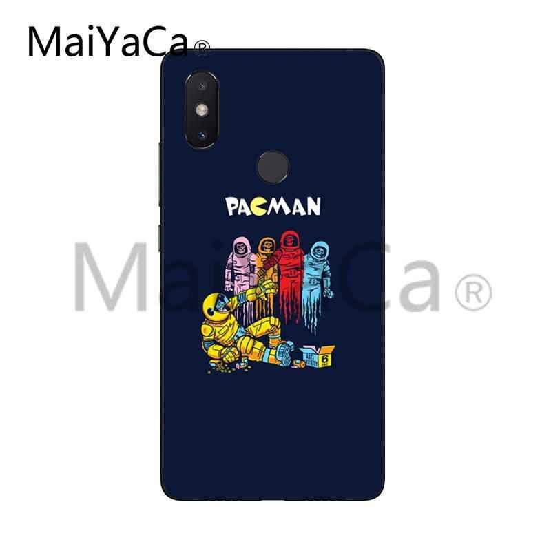 MaiYaCa パックマンゲーマーオタク DIY 塗装美しい Coque 電話ケースシャオ mi mi 6 mi x2 mi x2S Note3 8 8SE 赤 mi 5 5 プラス Note4 4 × 5