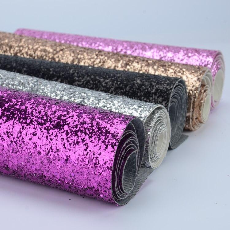 Блестящий тканевый материал(массивный) Мини-рулон 25 см x 138 см-поделки/Аппликация/Рождество/стены границы/обои
