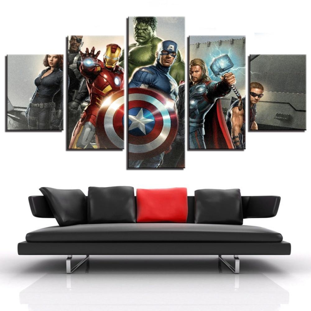 Captain America Hot Movie Art Silk Canvas Poster Print 13x20 32x48 inch